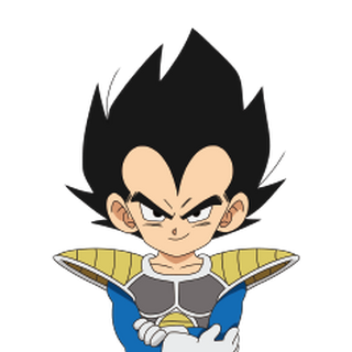 Vegeta bambino in Dragon Ball Super: Broly.