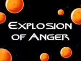 Explosion of Anger