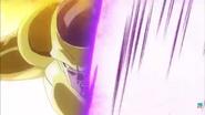 Freezer dorado atacando a Goku FNF
