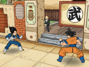 Goku and vegeta superdragonballz