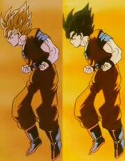 Poder Super Saiya comparación