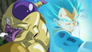 SSB Vegeta Assaults Frieza