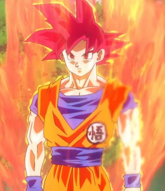 Super Saiyan God   Dragon Ball Wiki   FANDOM powered by Wikia