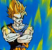 SSJ2 Goku Cockiness