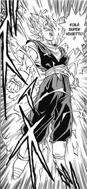 Vegetto Super Saiyan (Artwork Dokkan)