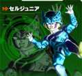 Cell Jr XV2 Characer Scan