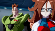 DB FighterZ Red Ribbon Army Android 16 & Android 21 (Cutscene)