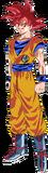 Goku SSJ Dios Render
