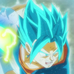 Vegeth Super Saiyan Blue.