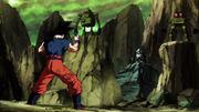 Son Goku vs Borareta Pancea e Koitsukai