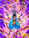 Dokkan Battle Devastating Punishment Beerus (Enraged) card (Rage Mode GoD Beerus)