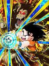 Dokkan Battle Outcome of Hardship Goku (Youth) (Great Ape) card (Base Form UR)