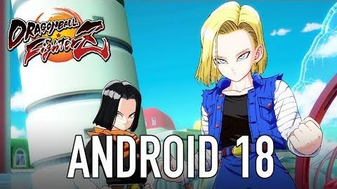 Dragon Ball FighterZ - PS4 XB1 PC - Android 18 (Character Intro Video)