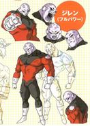 Jiren Máximo Poder boceto
