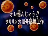 A decisão de Kuririn!!