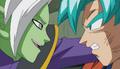 Goku et Zamasu futur