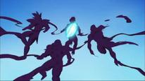 Muerte de los Guerreros Fantasmas