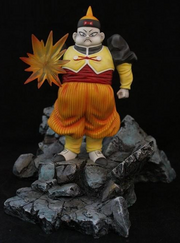 Statue android 19