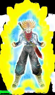 Super saiyan rage trunks aura by brusselthesaiyan-datf4fn