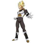 Vegeta - Xeno (Super Saiyan) (Artwork)