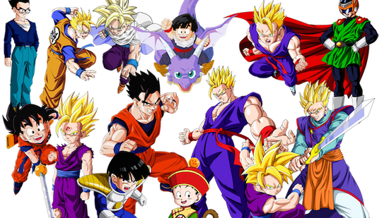 All gohan render vector by ddgraphics-d5ds3f2