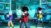SDBH World Mission Dragon Ball Heroes Team Hero Switch Activation (DBH Team - Froze, Beat, & Note)