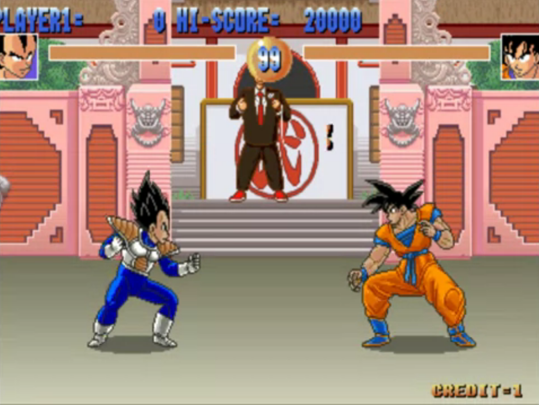 Dragon ball z arcade game dragon ball wiki fandom powered by goku the games voltagebd Gallery