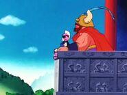 Milk y gyumao en su castillo