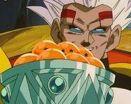 Super Baby 2 con las esferas del dragón