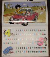 Calendario 1987 2