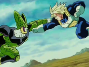 Cell contro Trunks
