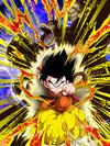 Dokkan Battle Full-On Strike Goku (Youth) (Great Ape) card (Base Form)