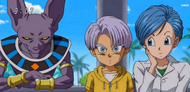EP49DBS Bulma,Trunks y bills