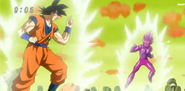 Goku VS Vegeta Falso