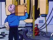 Trunks Bulma Time Machine