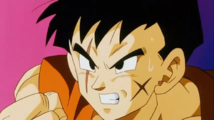 Yamcha and Krillin vs. Kid Buu (DBZ Kai) 5