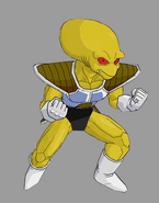 Yellow frieza soldier by robertovile-d35y4h2