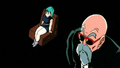Bulma and Roshi