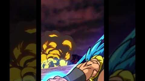 Gogeta Blue Super Attack