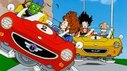 Piccolo e Goku a scuola guida