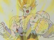 SS Goku on namek