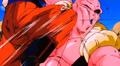 The Old Kai's Weapon - Gohan knees Buu