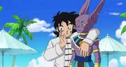 Yamcha and Beerus