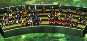 Everyone senta together