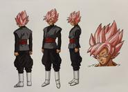 Goku Black SS Rose Boceto Jump Festa