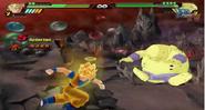 Goku golpea a Janemba