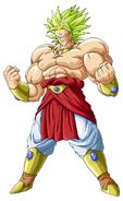 Broly super saiyan legendario