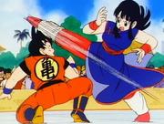 Chichi contro Son Goku