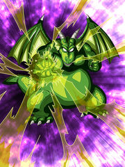 Dokkan Battle Demon's Disciple Cymbal card (Demon Clansman Cymbal R-SR)