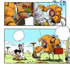 Le Sfere del Drago vengono rubate da Shu